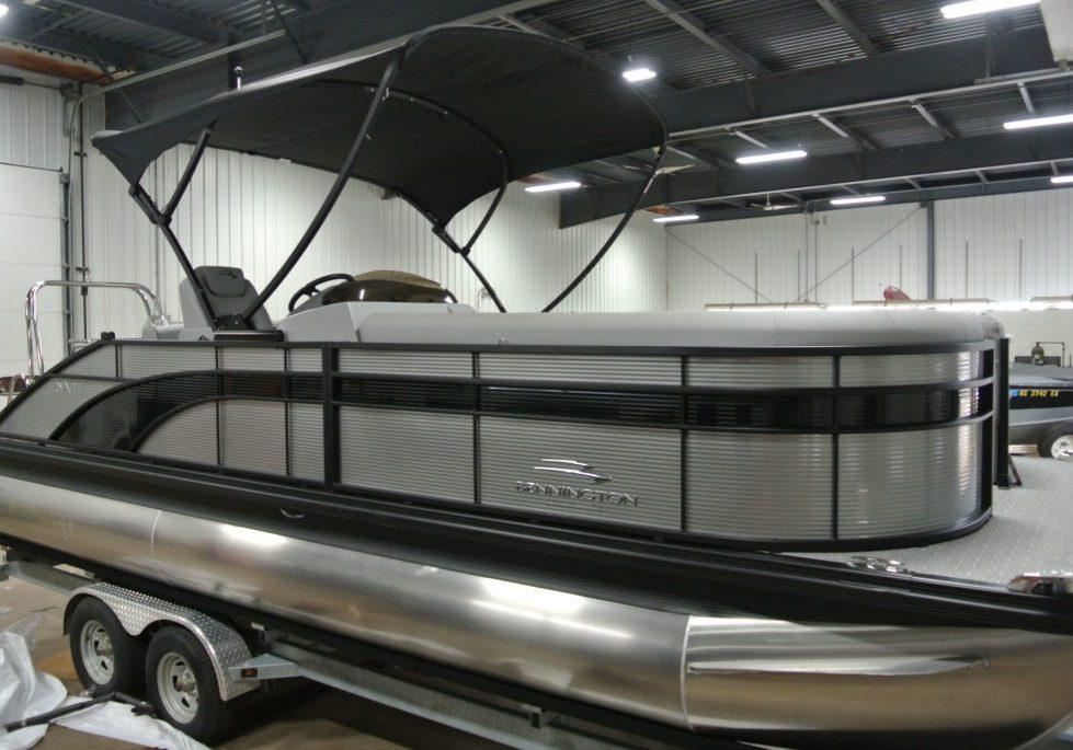 2020 Bennington 22 SSRXP Tritoon Silver-Black (14)